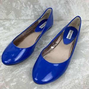 Steve Madden Amoree Blue Flats women's size 9